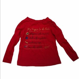 Epic Threads Girls Size 2T Red Shirt